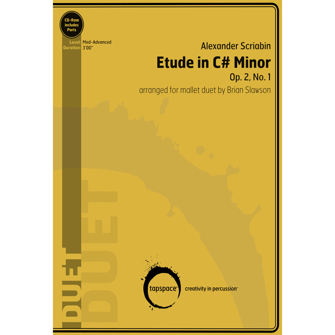 Etude in C# Minor by Alexander Scriabin arr. Brian Slawson