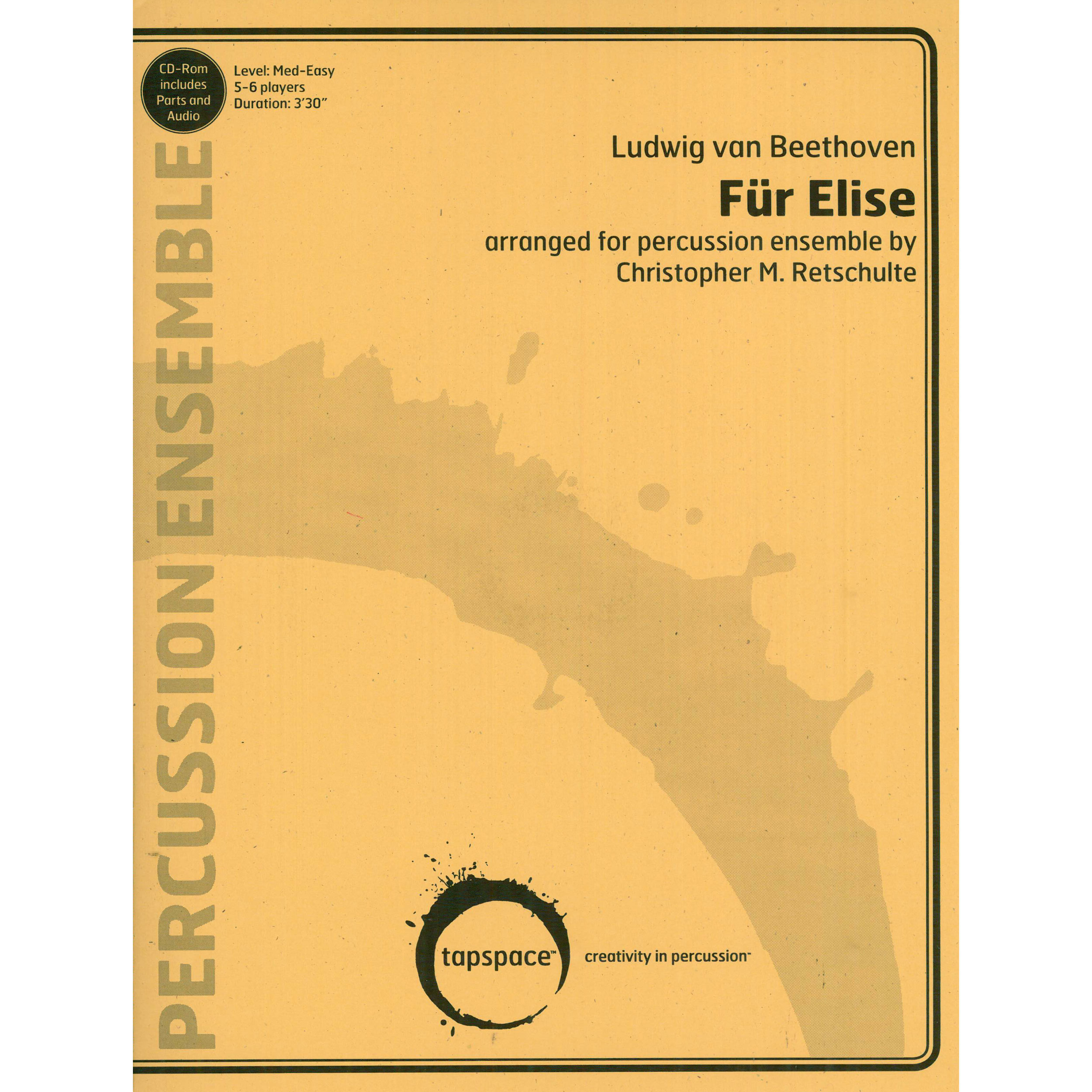 Fur Elise by Beethoven arr. Christopher M. Retschulte