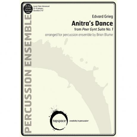 Anitra's Dance from Peer Gynt Suite No. 1 by Edvard Grieg, arr. Brian Blume