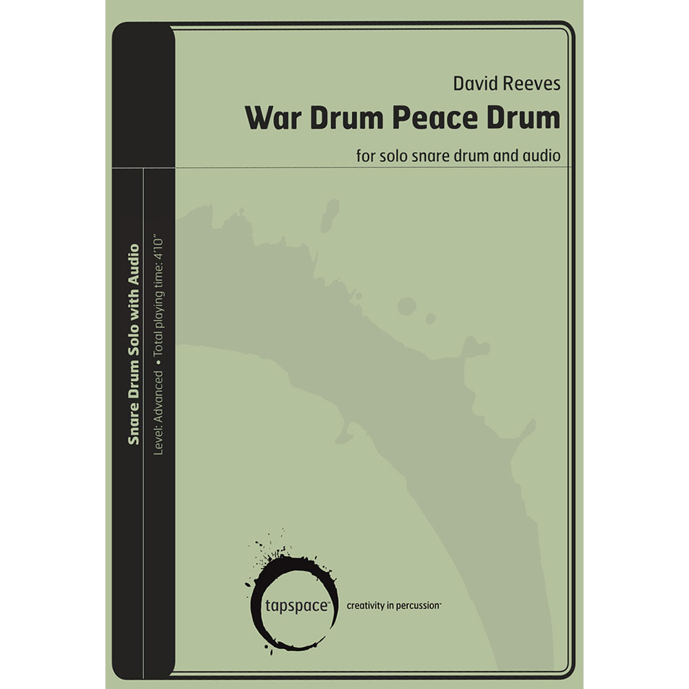 War Drum Peace Drum by David Reeves