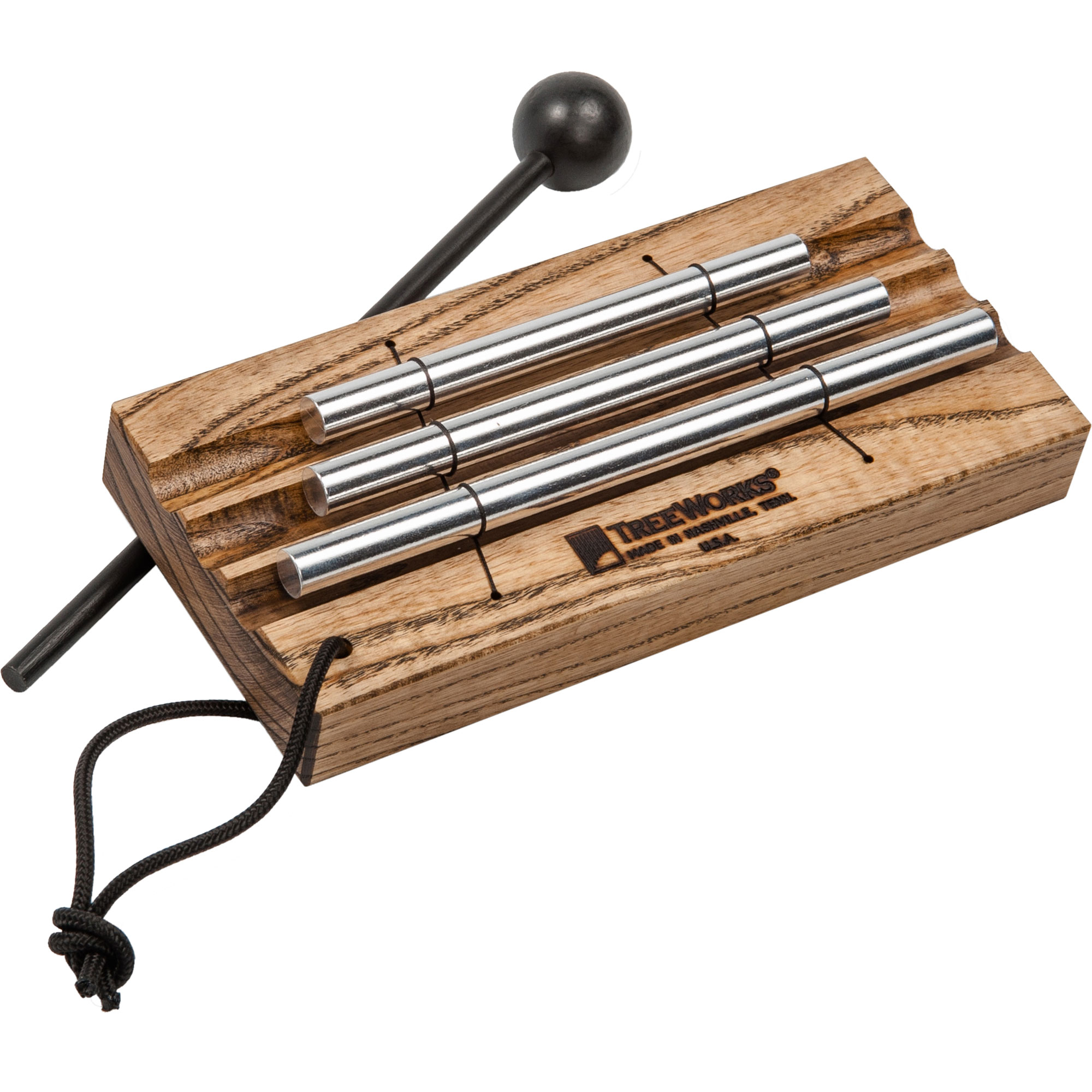 TreeWorks 3-Tone Meditation Energy Bar Chimes