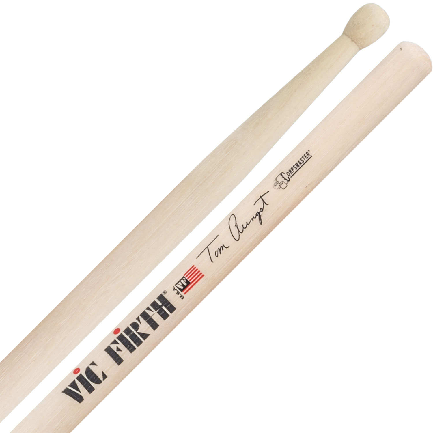 Vic Firth STA Tom Aungst Corpsmaster Signature Marching Snare Sticks