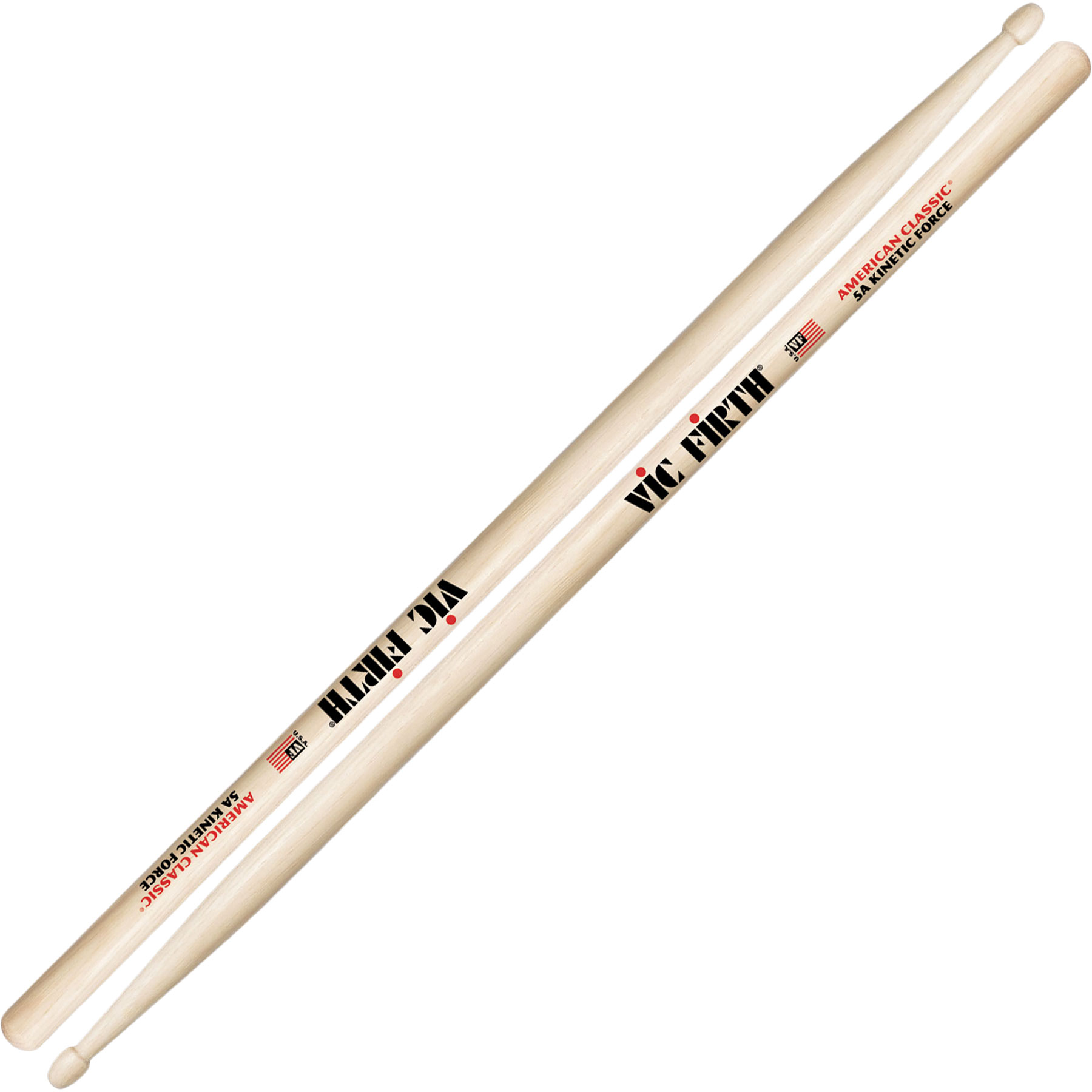 vic firth american classic kinetic force 5a drumsticks 5akf. Black Bedroom Furniture Sets. Home Design Ideas