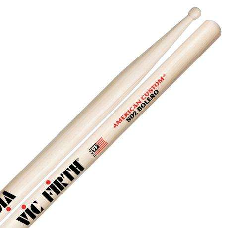 Vic Firth American Custom SD2 Bolero Concert Snare Sticks
