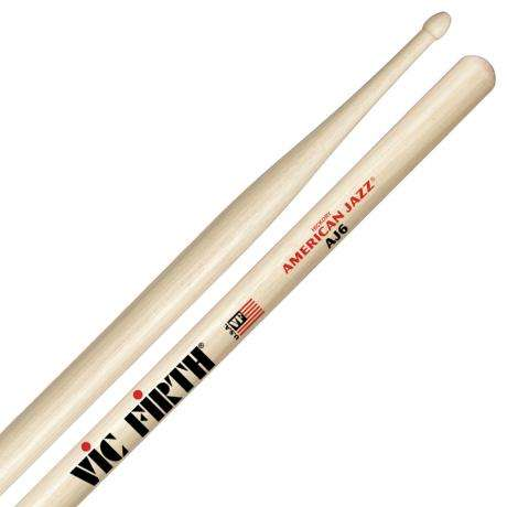 Vic Firth American Jazz #6 7A Drumsticks