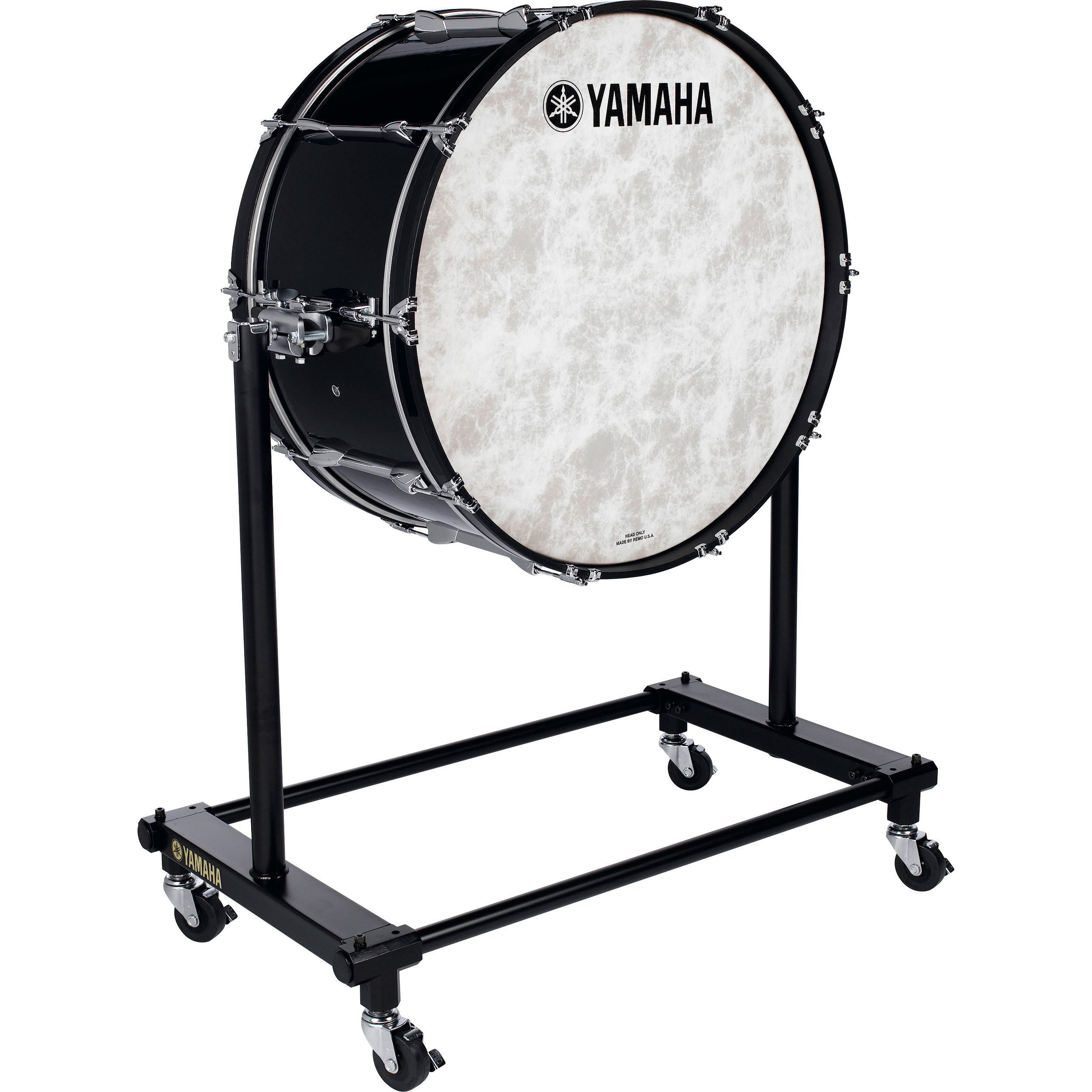 "Yamaha 32"" (Diameter) x 16"" (Deep) Intermediate Bass Drum with BS-7051 Stand and Cover"