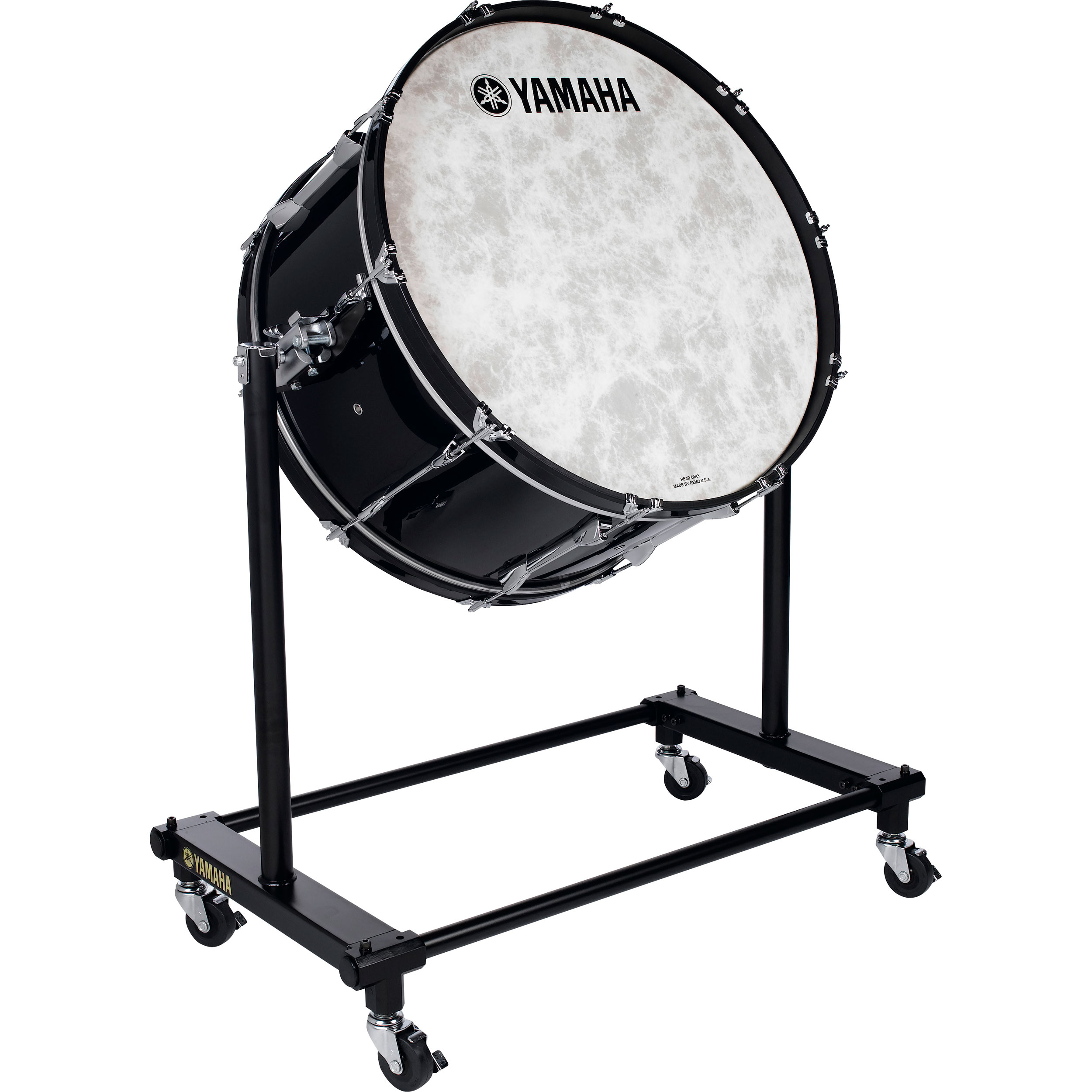 "Yamaha 36"" (Diameter) x 22"" (Deep) 9000 Professional Series Maple Concert Bass Drum in Black"