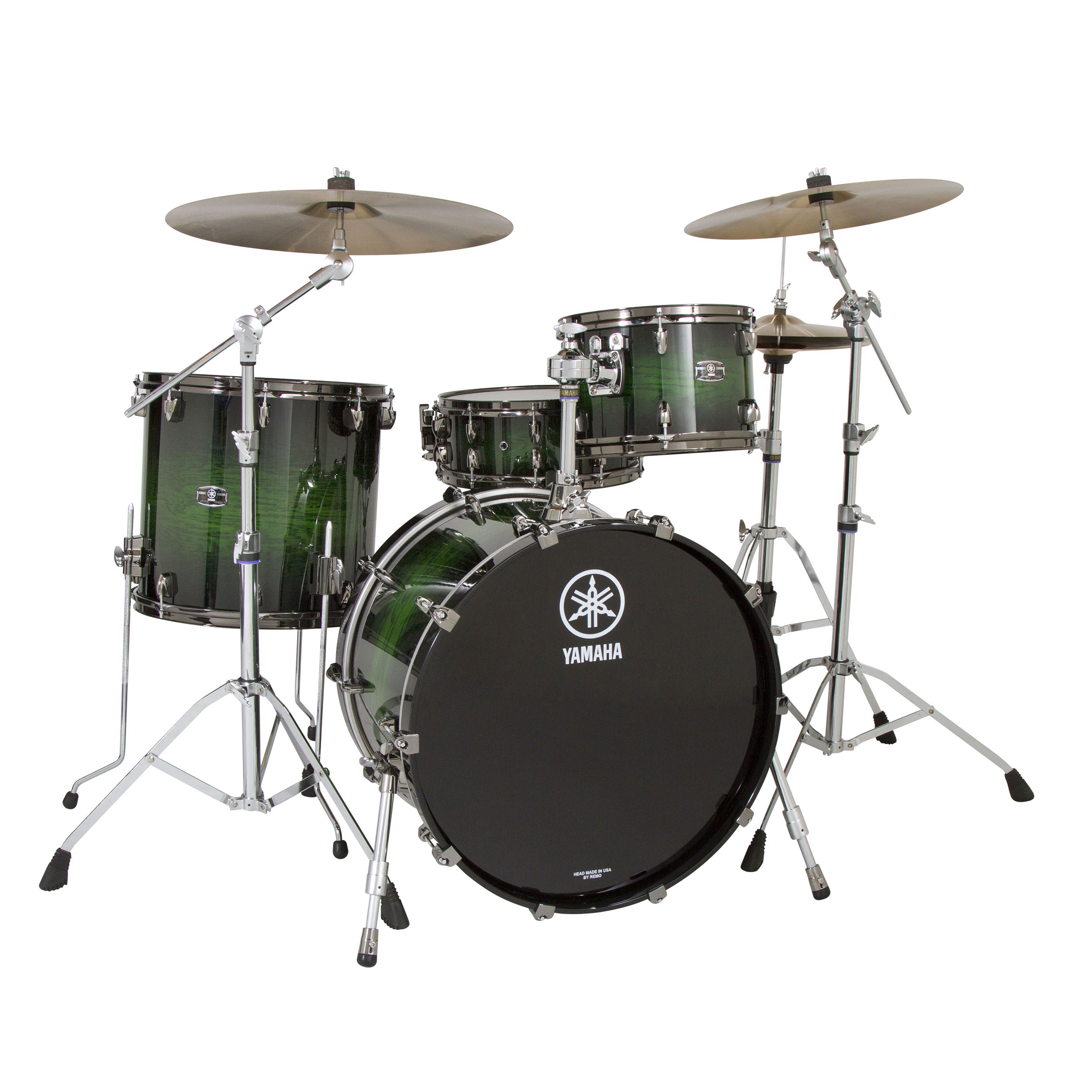 Yamaha Live Custom 4 Piece Drum Set Shell Pack 22 Quot Bass