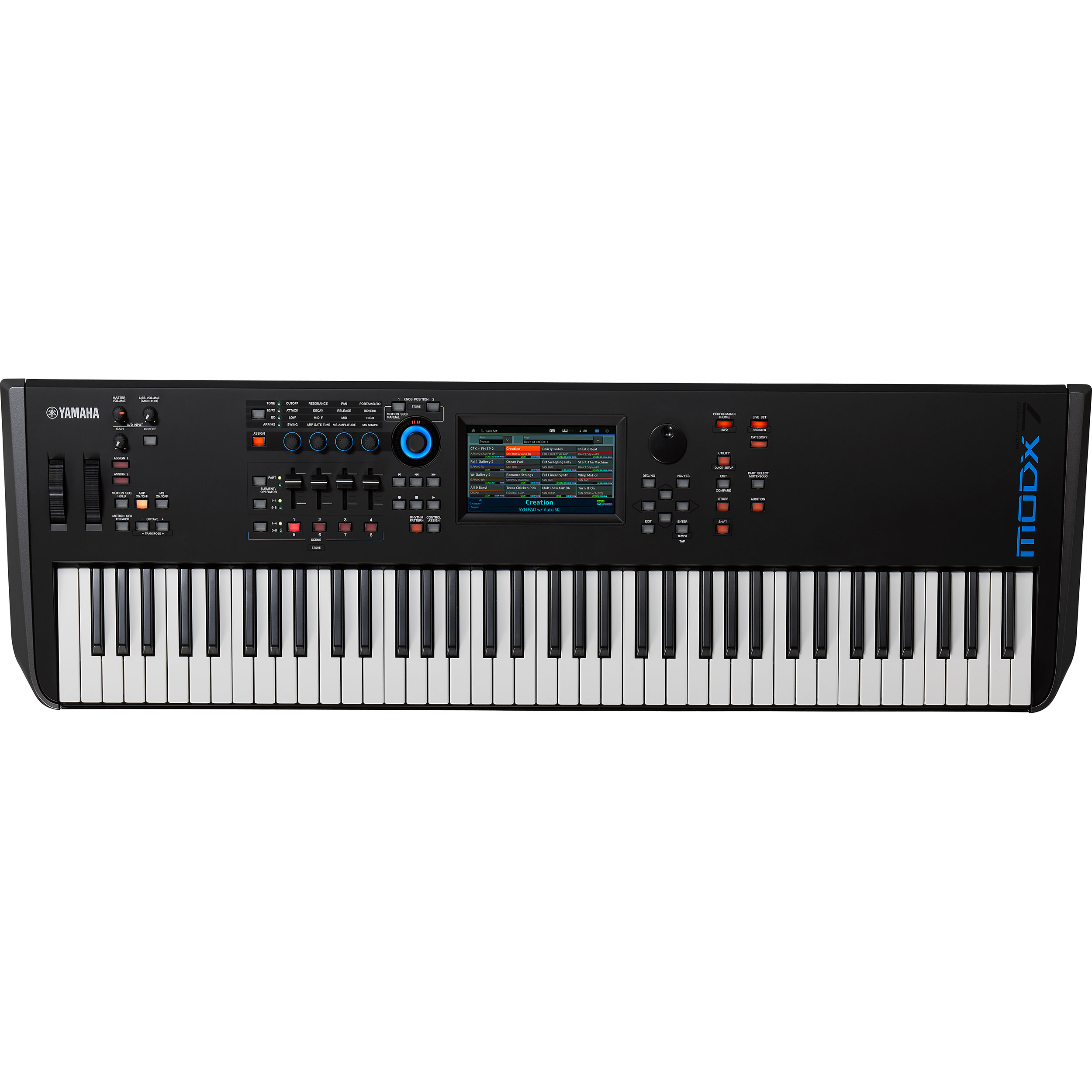 Yamaha MODX7 76-Key Midrange Synthesizer