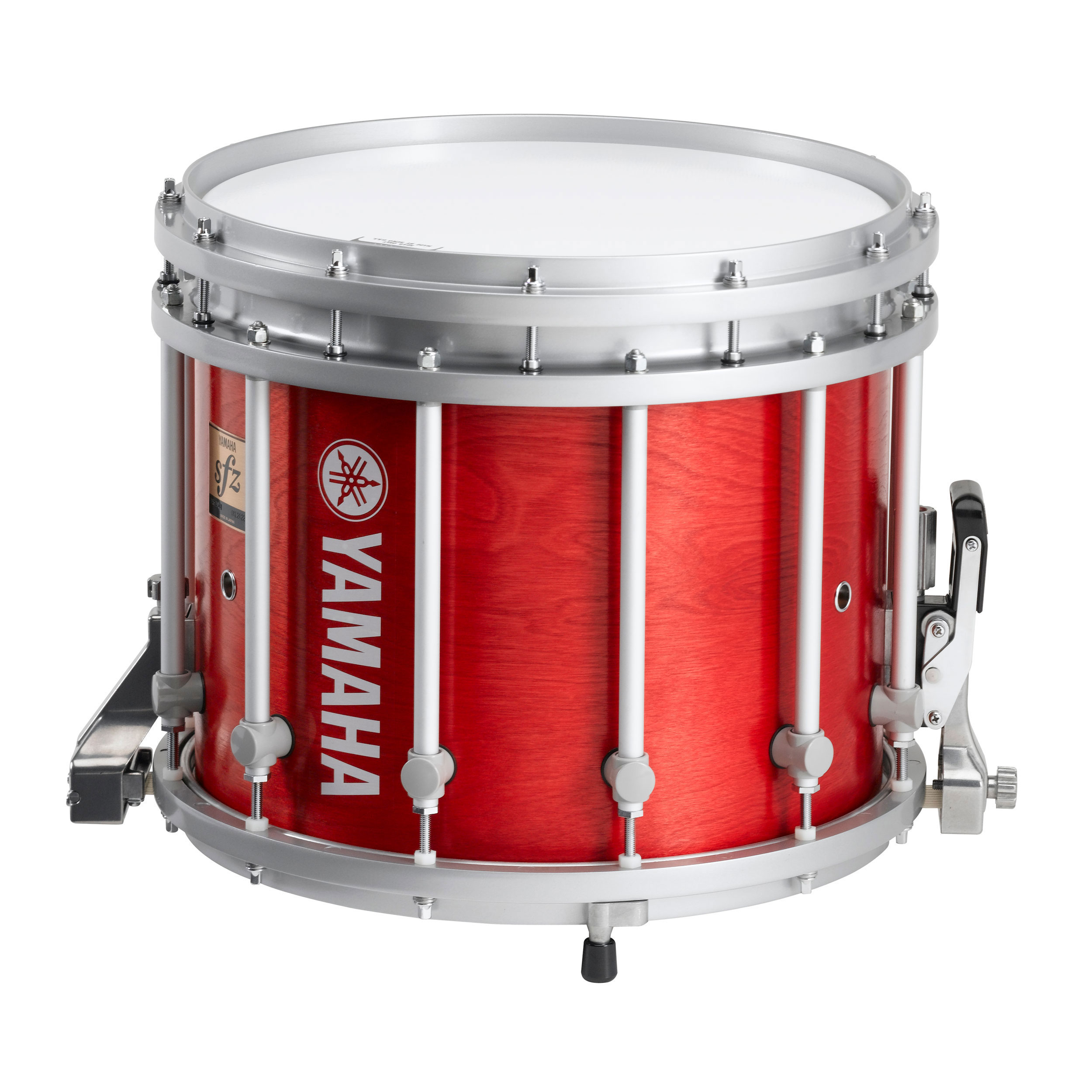 yamaha 14 x 12 9300 sfz marching snare drum with chrome