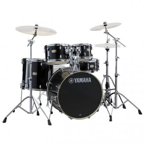 Yamaha Stage Custom 5-Piece Rock Drum Set with HW-680W Hardware Pack (22