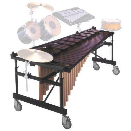 Yamaha 4.3 Acoustalon Marimba with Multi-Frame and drop cover