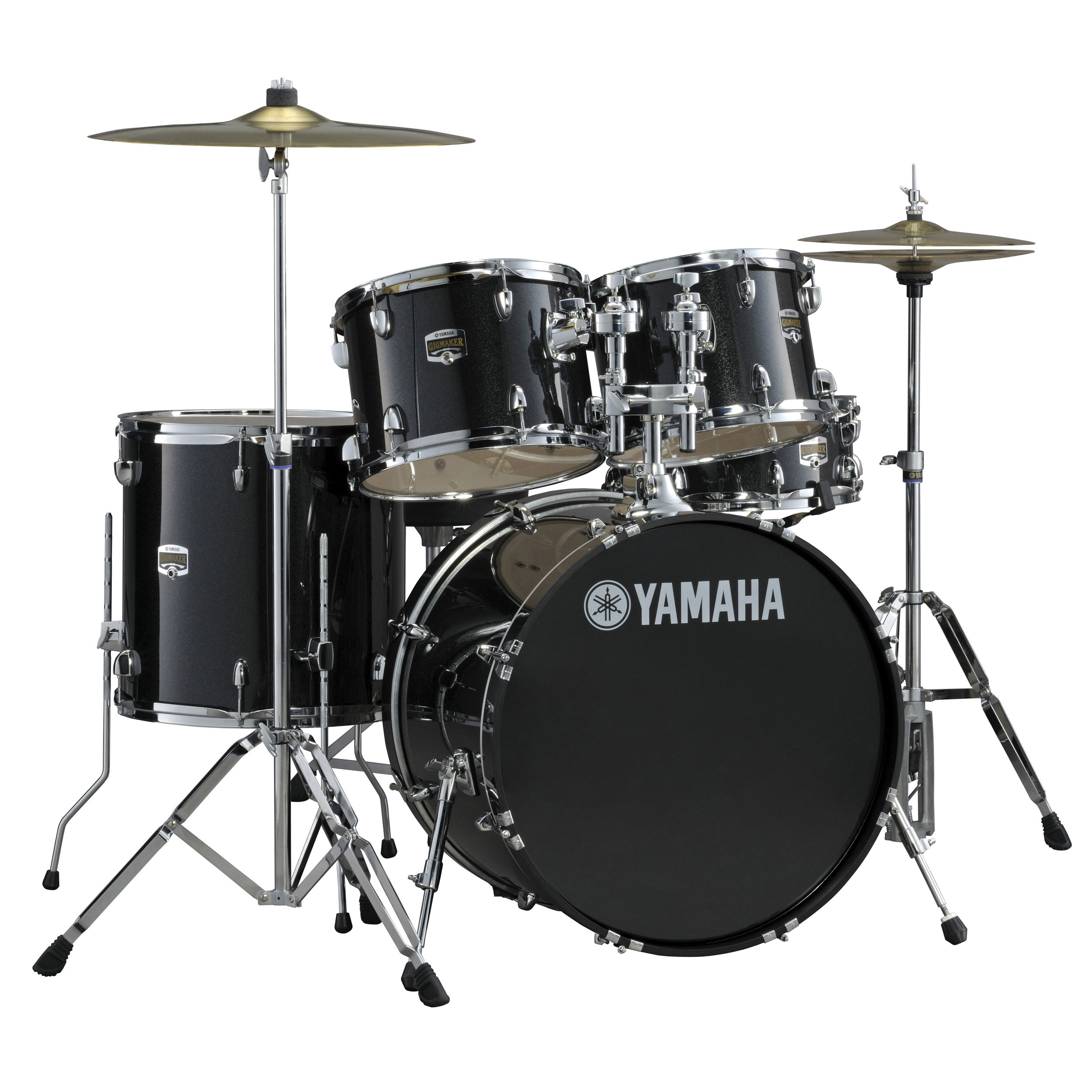 "Yamaha GigMaker 5-Piece Drum Set with Hardware (20"" Bass, 10/12/14"" Toms, 14"" Snare)"