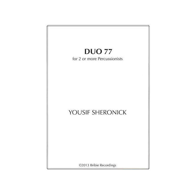 Duo 77 by Yousif Sheronick