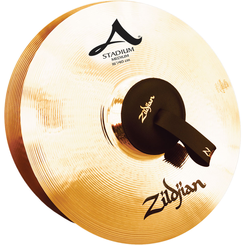 "Zildjian 16"" Stadium Medium Hand Crash Cymbals (Pair)"