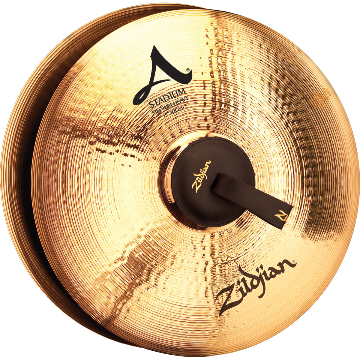 "Zildjian 19"" A Stadium Medium-Heavy Hand Crash Cymbal Pair"