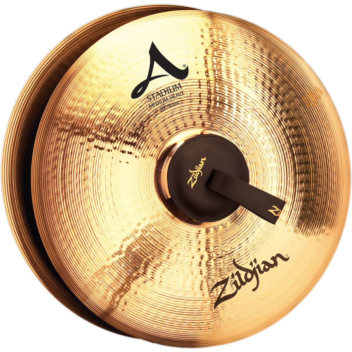 "Zildjian 20"" A Stadium Medium-Heavy Hand Crash Cymbal Pair"