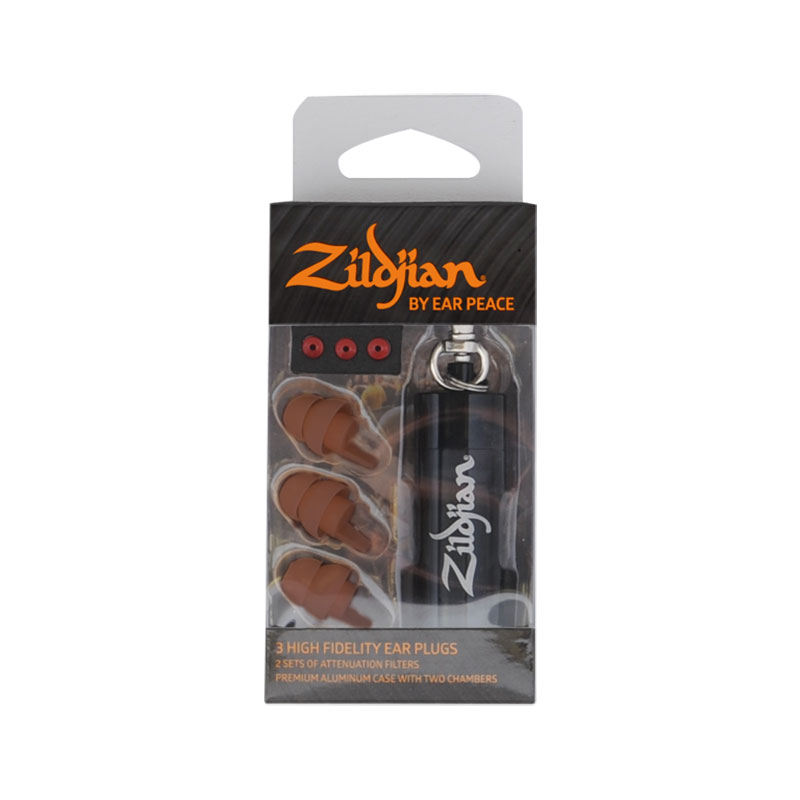 Zildjian HD Earplugs in Dark Skin Tone