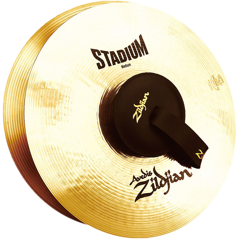 "Zildjian 16"" A Stadium Medium-Heavy Hand Crash Cymbal Pair"