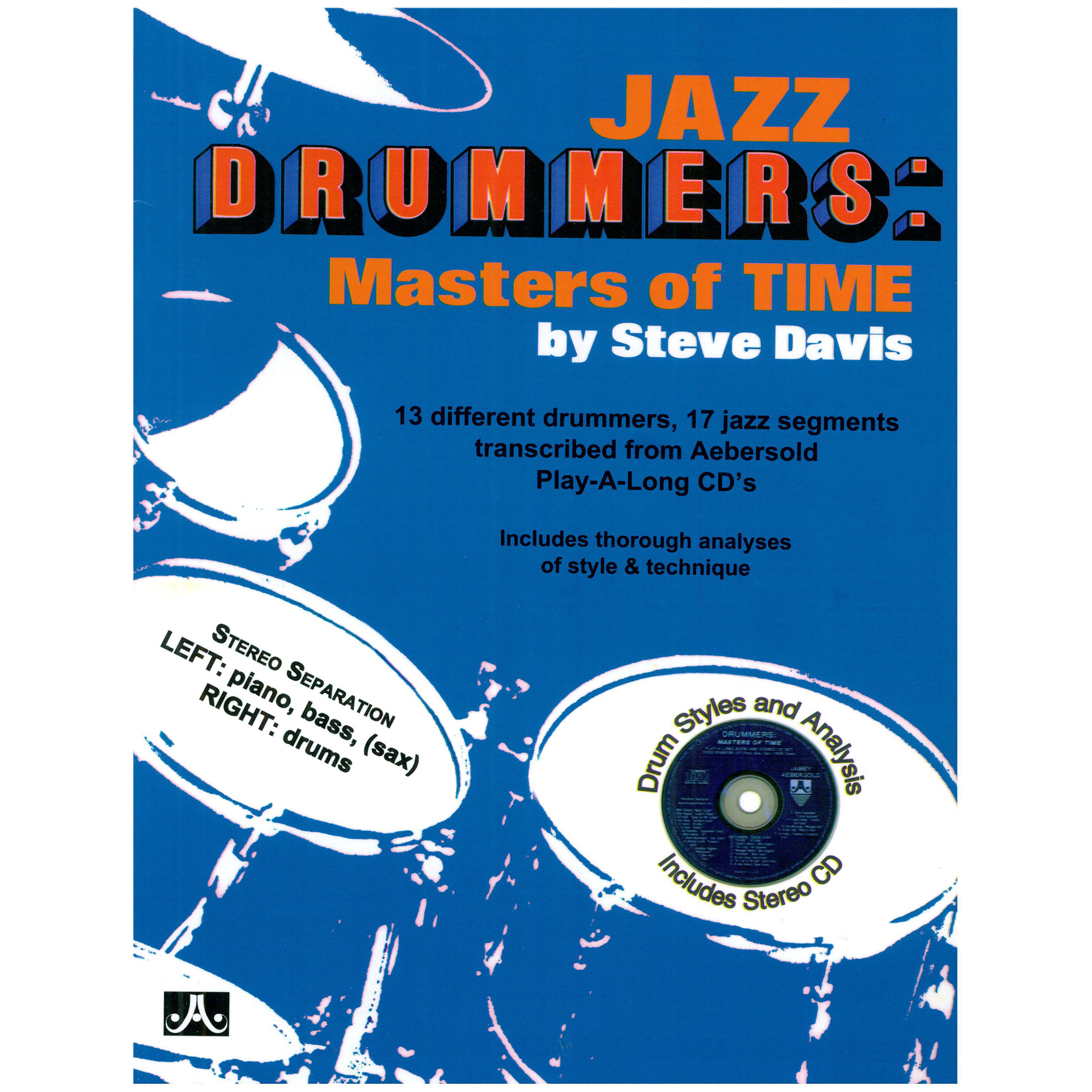 Jazz Drummers: Masters of Time by Davis